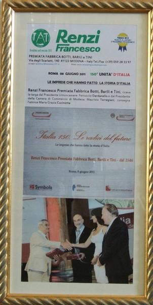 150th UNIT ITALY