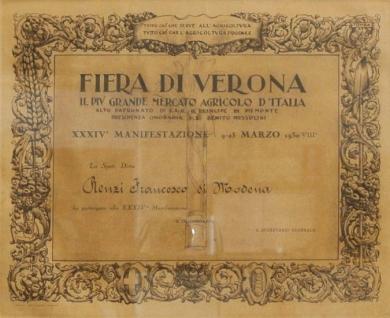 VERONA FAIR 1930