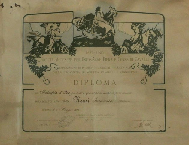 DIPLOMA FIERA 1925
